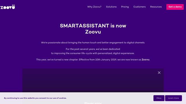 smartassistant API koppeling