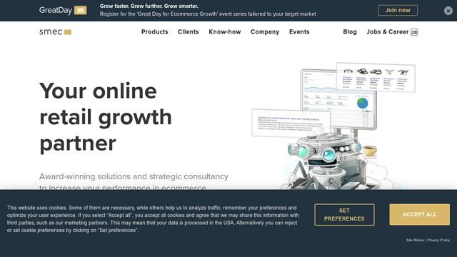 Smarter-Ecommerce API koppeling