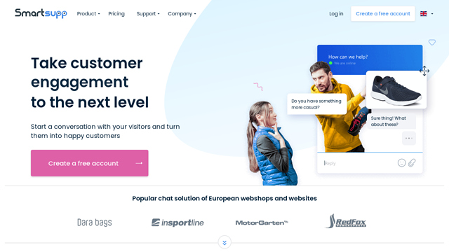 Smartsupp API koppeling
