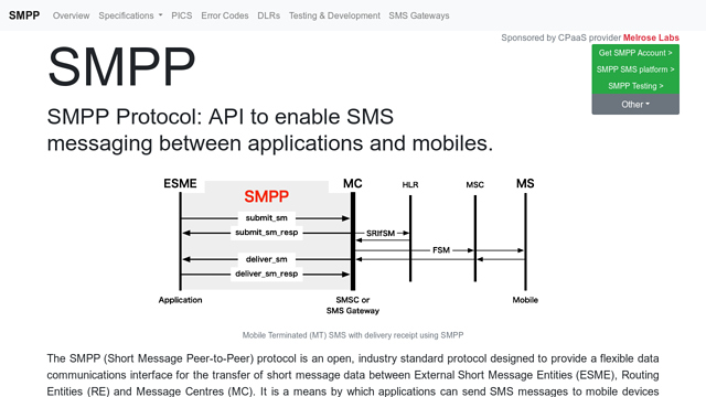 SMPP API koppeling