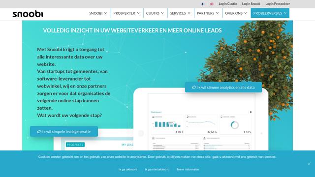 Snoobi-Analytics API koppeling