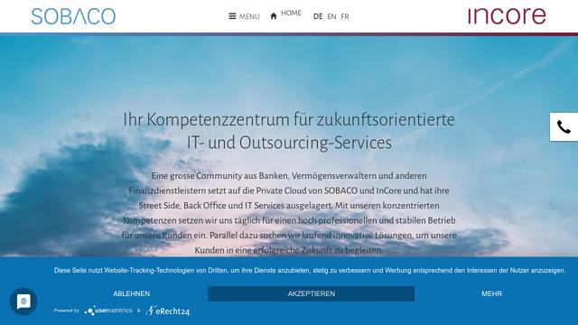 SOBACO-Solutions API koppeling