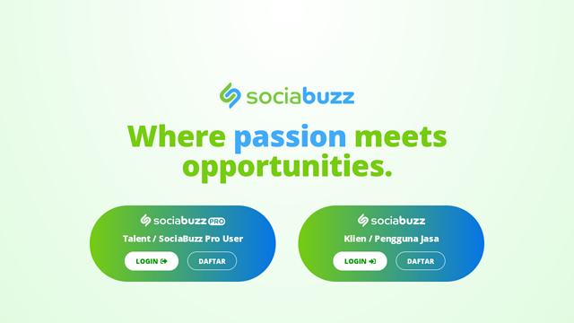 SociaBuzz API koppeling