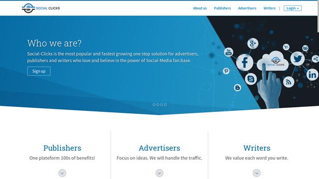 Social-Clicks API koppeling