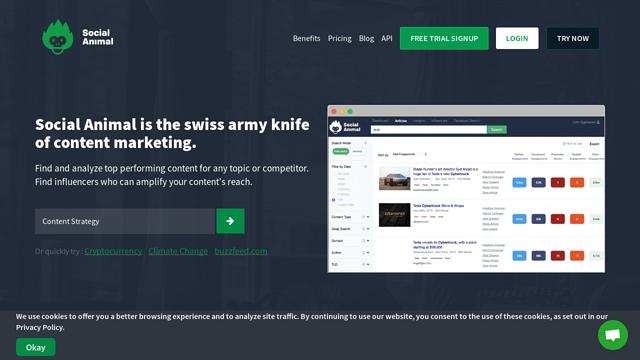SocialAnimal API koppeling