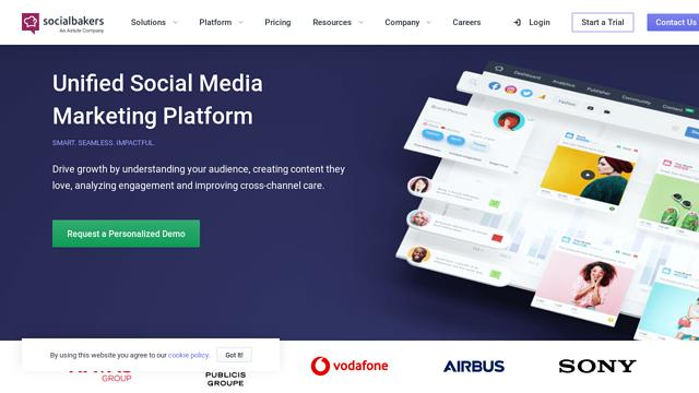 Socialbakers API koppeling