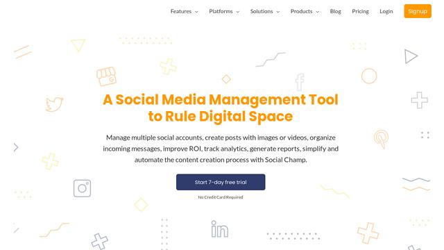SocialChamp API koppeling