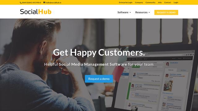 SocialHub API koppeling