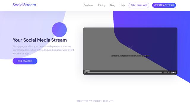 SocialStream API koppeling