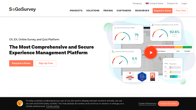 SoGoSurvey API koppeling