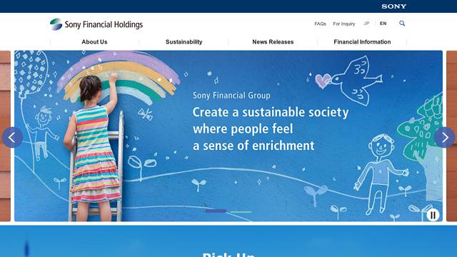 Sony-Financial-Group API koppeling