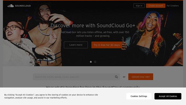SoundCloud API koppeling