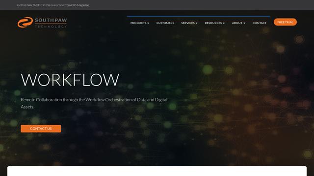 Southpaw-Techology API koppeling