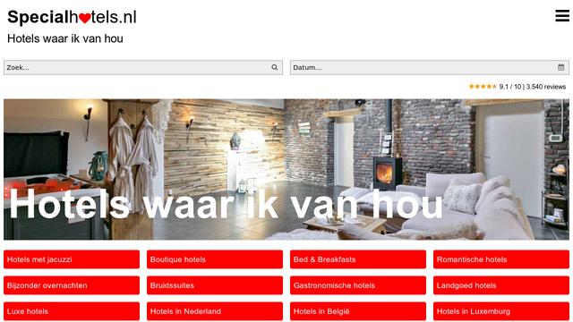Specialhotels API koppeling