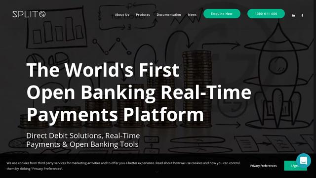 Split-Payments API koppeling