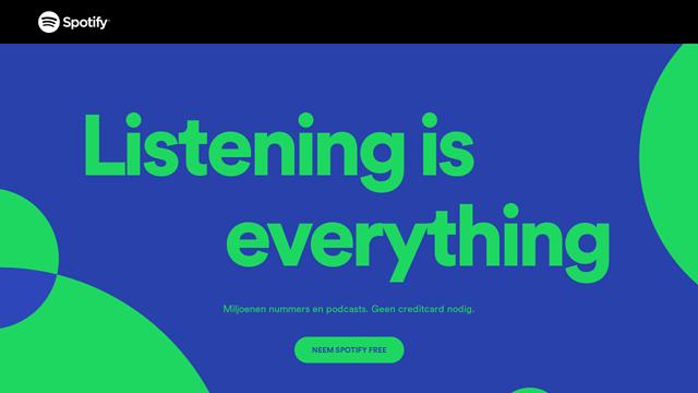 Spotify API koppeling