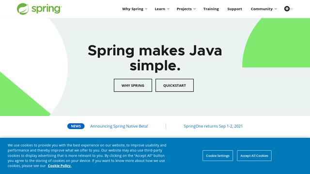 Spring API koppeling
