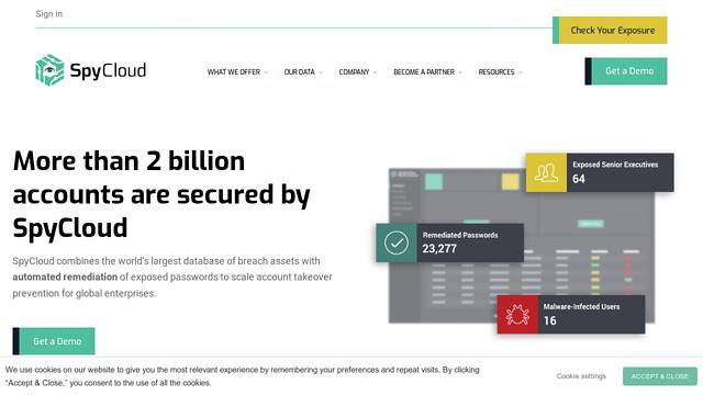 SpyCloud API koppeling