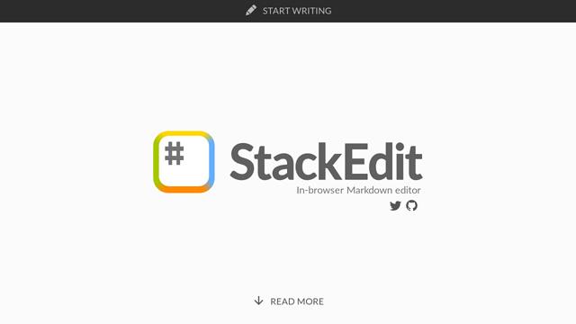StackEdit API koppeling