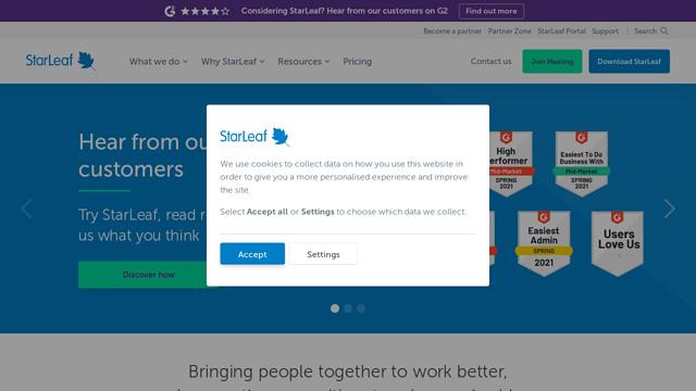 StarLeaf API koppeling