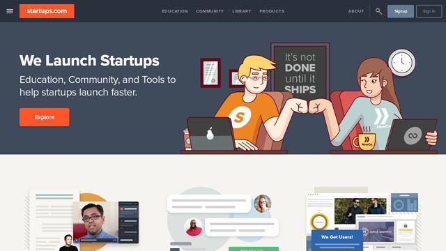 Startups.com API koppeling