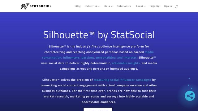 StatSocial API koppeling