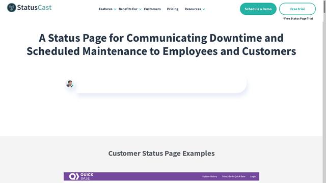 StatusCast API koppeling