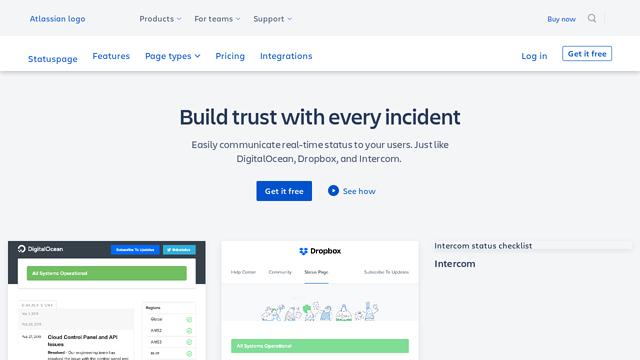 Statuspage API koppeling
