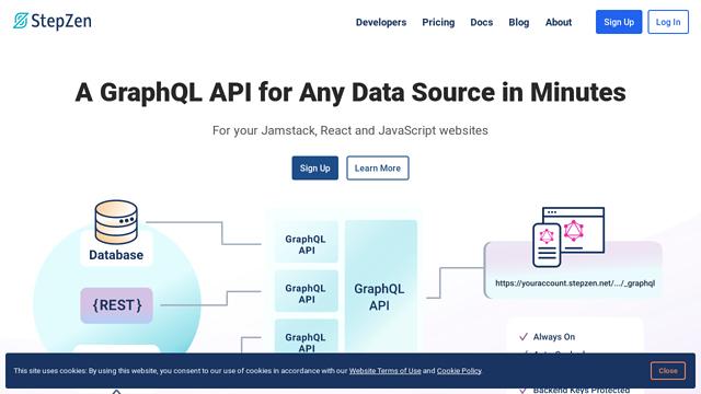 StepZen API koppeling