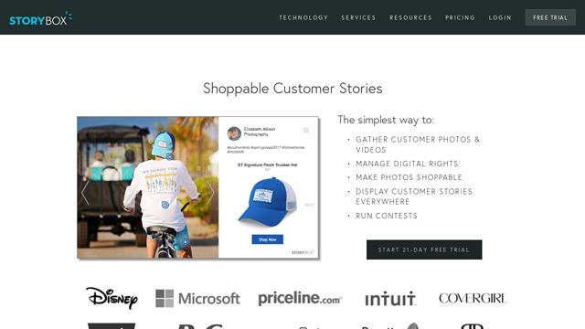 StoryBox API koppeling