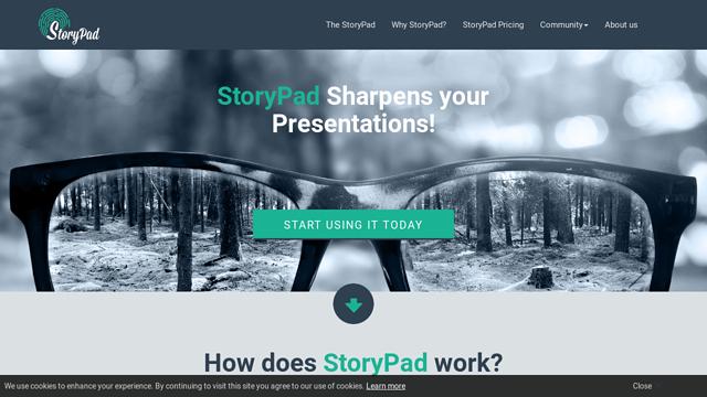 StoryPad API koppeling