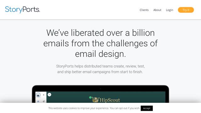 Storyports API koppeling