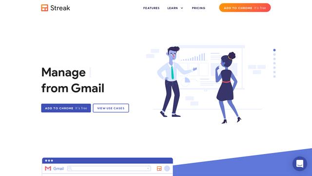 Streak API koppeling