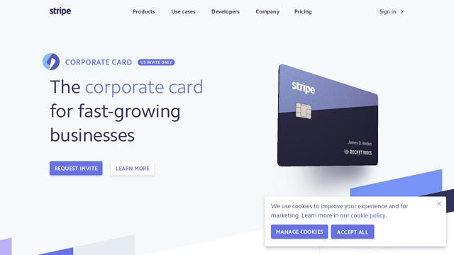 Stripe-Corporate-Card API koppeling
