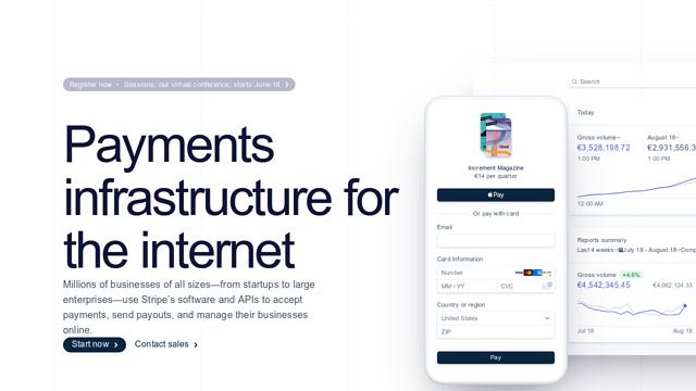 Stripe API koppeling