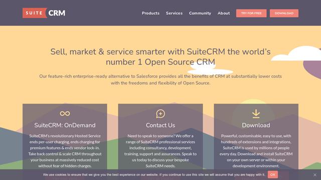 SuiteCRM API koppeling