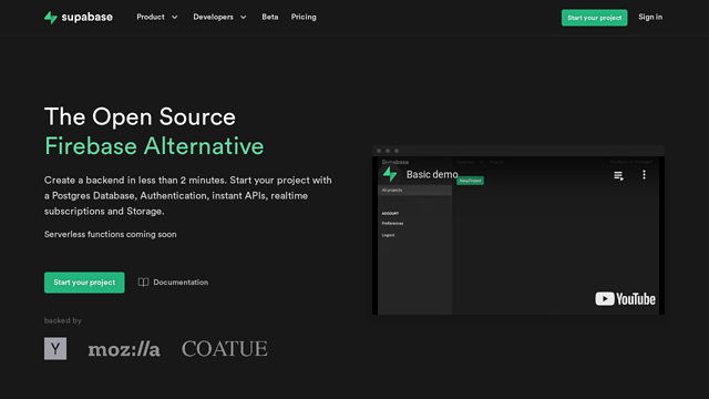 Supabase-|-Supabase API koppeling