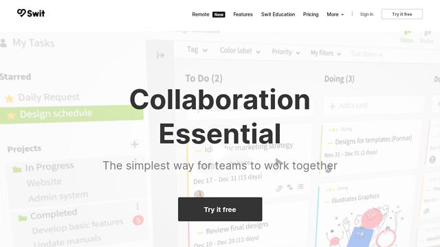 Swit.io API koppeling