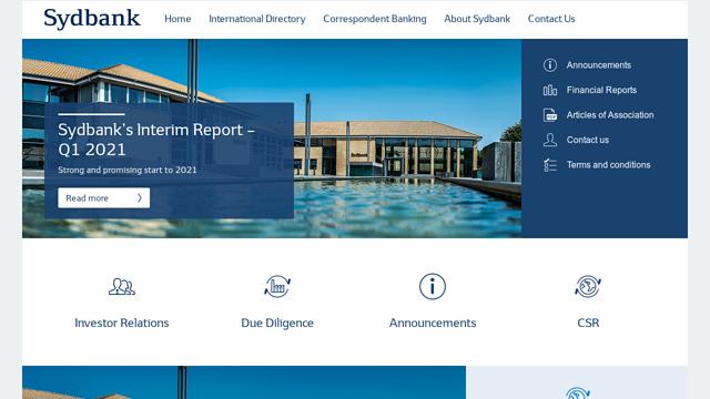 Sydbank API koppeling