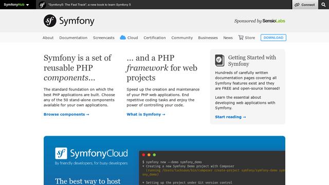 Symfony API koppeling
