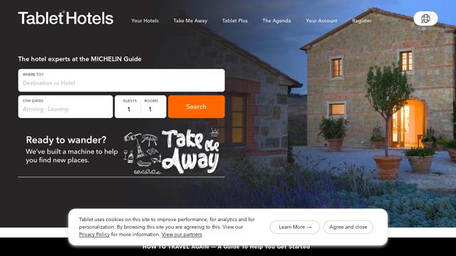 Tablet-Hotels API koppeling