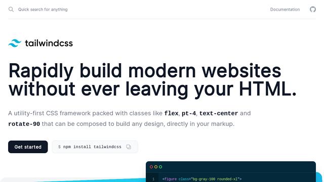 Tailwind-CSS API koppeling