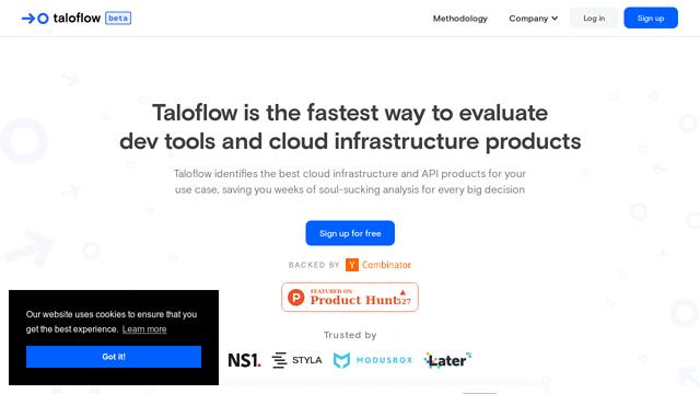 Taloflow API koppeling