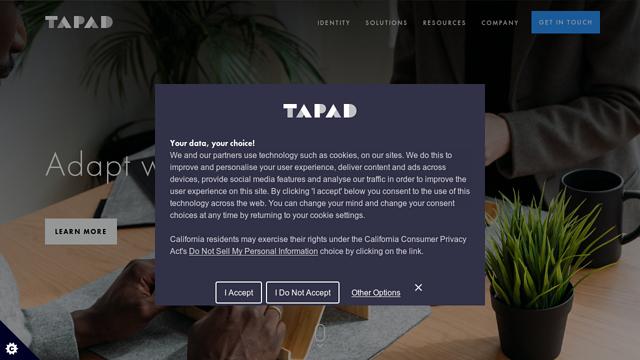 Tapad API koppeling