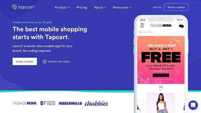 Tapcart API koppeling