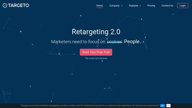 Targeto API koppeling