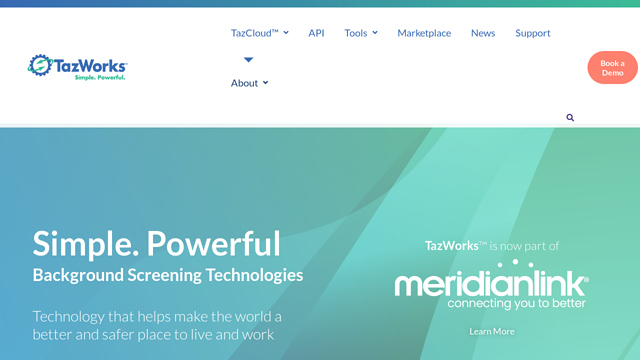 TazWorks API koppeling