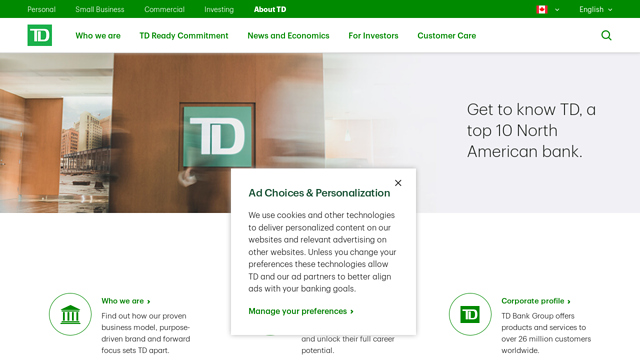 TD-Bank API koppeling