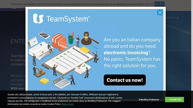 TeamSystem API koppeling