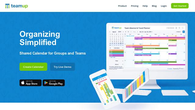 Teamup API koppeling